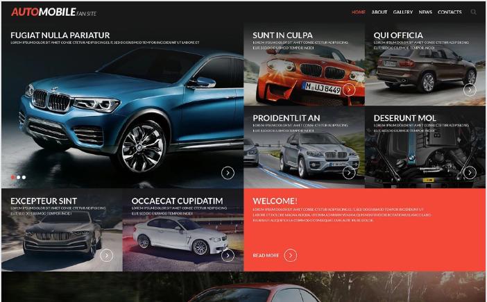 Best Car HTML Website Templates