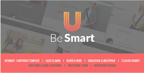 BeSmart - Education & Courses HTML Template