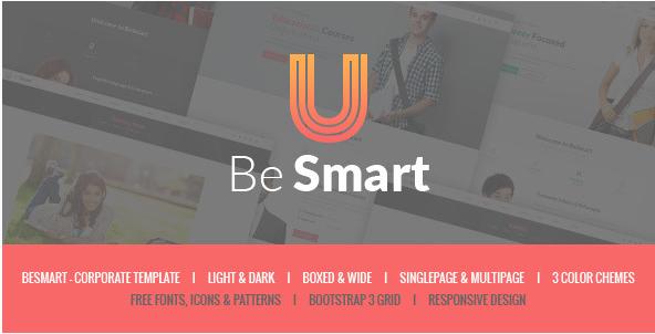 BeSmart - Education & Courses HTML Template