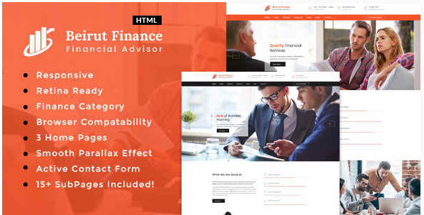 Beirut : Business, Finance and Consultancy Template