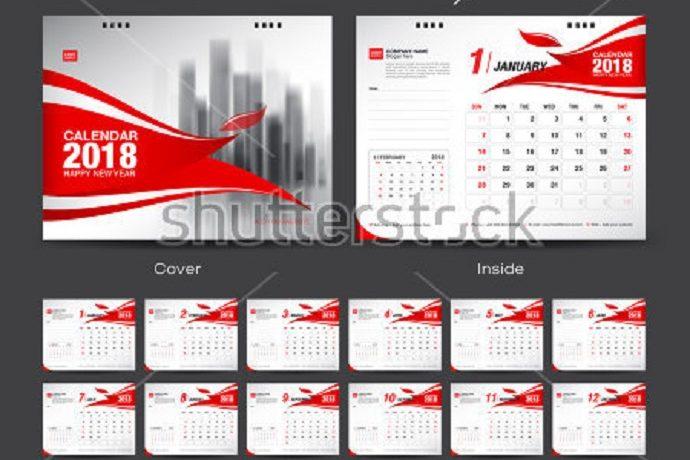 Best Printable Calendar Mockups