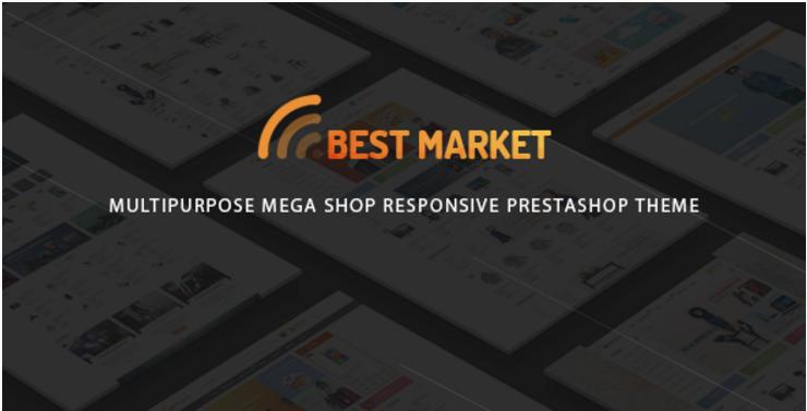 BestMarket - Multipurpose Mega Shop Responsive Prestashop Theme