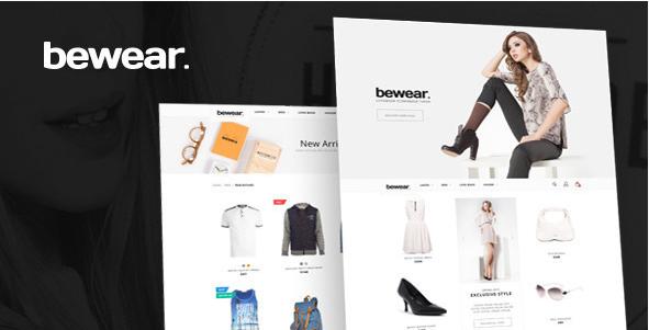 Bewear - Lookbook Fashion eCommerce HTML Template