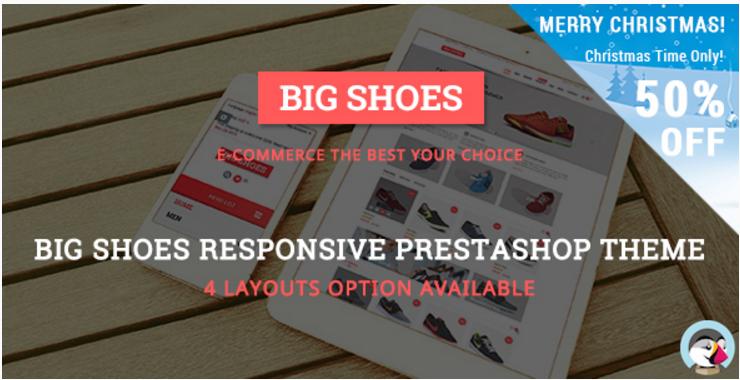 Bigshoes - Responsive Prestashop Theme