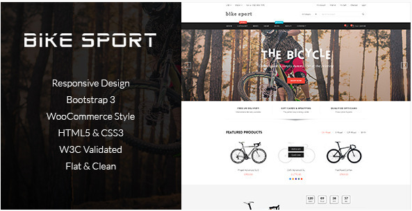 Bike Shop - HTML Shop Template