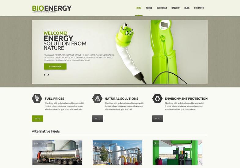 Bio Energy PSD Template
