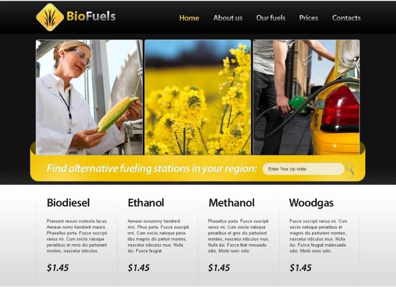 Biofuel PSD Template