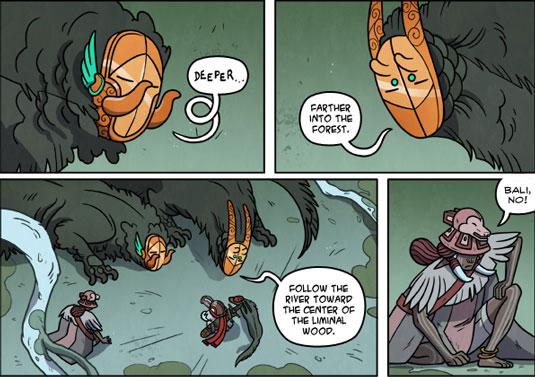 Imaginative Web Comics