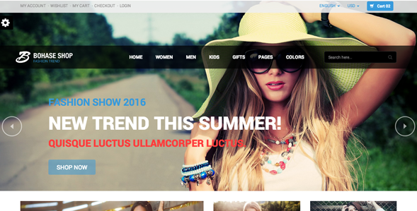 Bohase - Responsive Fashion eCommerce HTML Theme