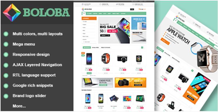 Boloba - Responsive Digital Opencart Theme