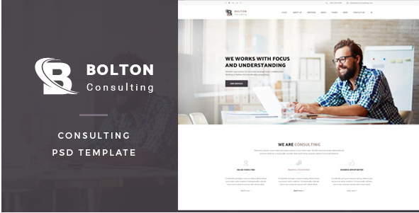 Bolton Consulting PSD Template