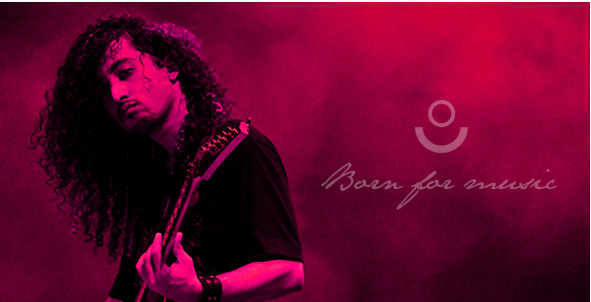 Born for music - HTML Template
