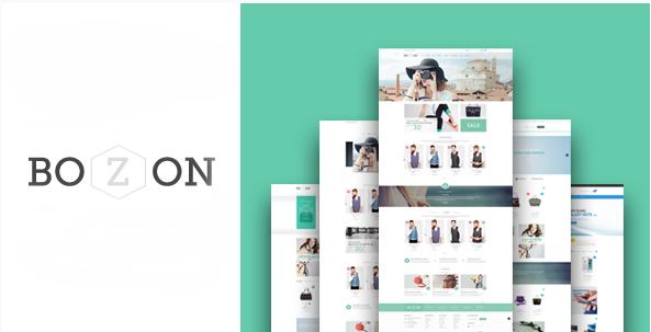 Bozon - eCommerce Fashion Template