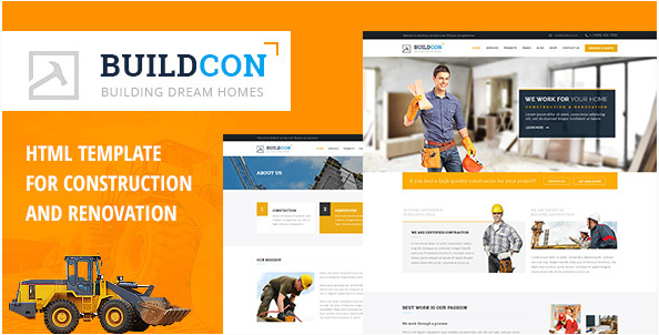 Buildcon - Construction and Renovation HTML Template