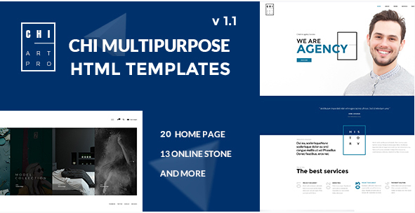 CHI - Responsive Creative HTML Template