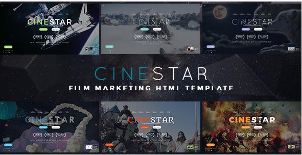 CINESTAR - Film Marketing Responsive HTML Template