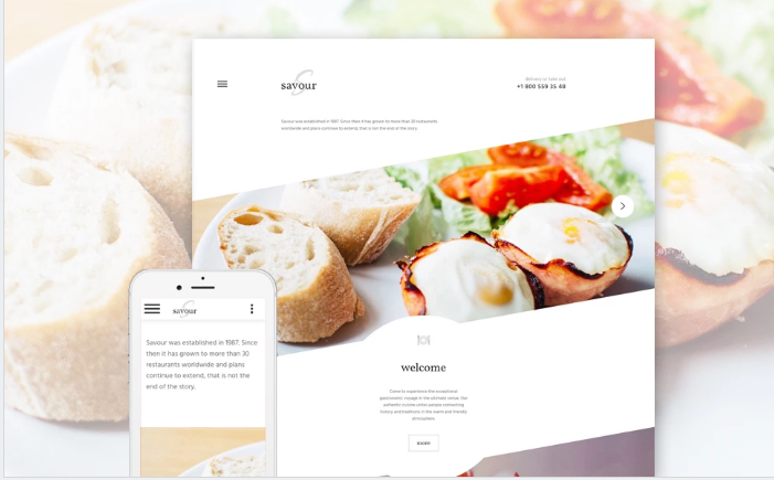 Best Restaurant HTML Website Templates
