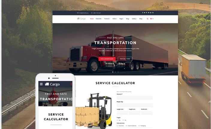 Best Transportation HTML Website Templates