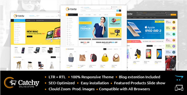 Catchy: Technology OpenCart Themes