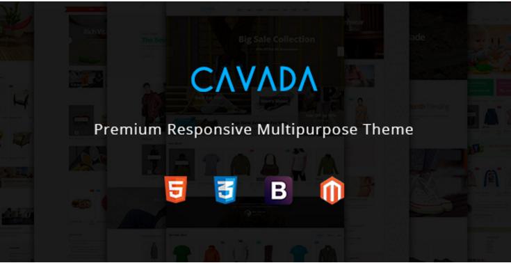 Cavada – Multipurpose Responsive Magento Theme