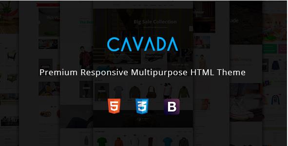 Cavada - Multipurpose Ecommerce HTML Template
