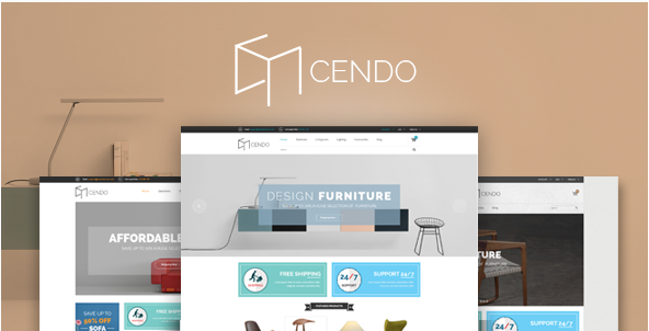 Cendo - Responsive HTML Furniture Template