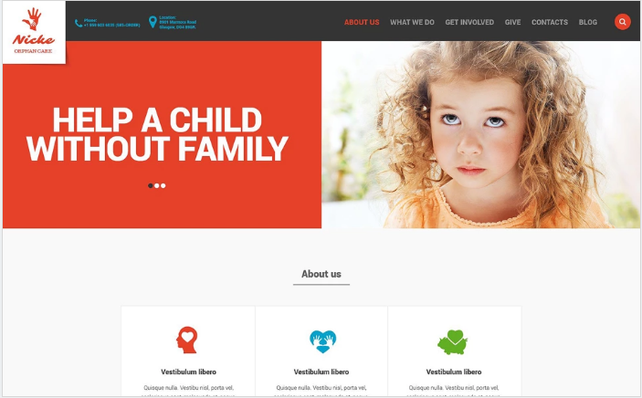 Best Charity HTML Website Templates