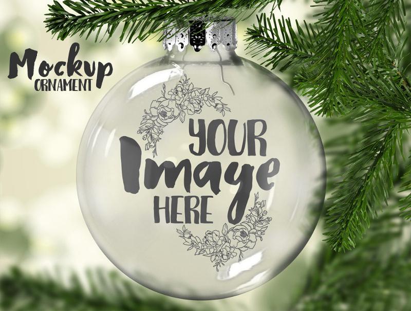 Christmas-Ornament-Mockup