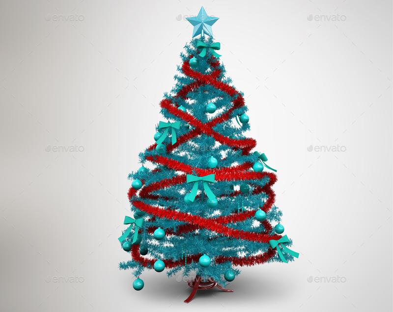 Christmas-Tree-MockUp-Template