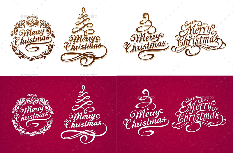 Christmas-Typography-Set