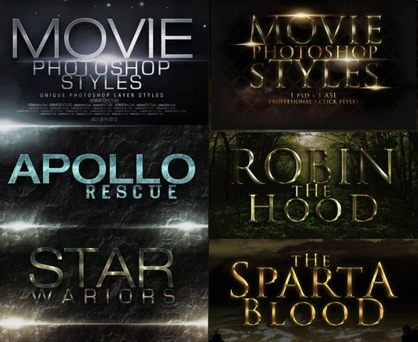 Cinematic Movie Styles