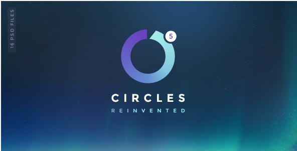 Circles 5   Mutil-Concept Creative PSD Template