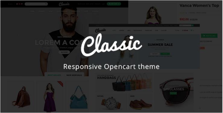 Classic - Responsive OpenCart Theme