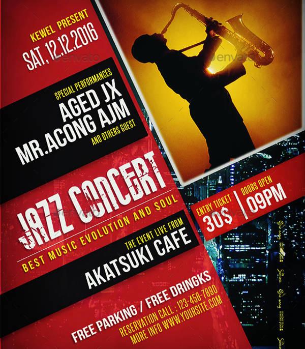 Clean-Concert-Poster