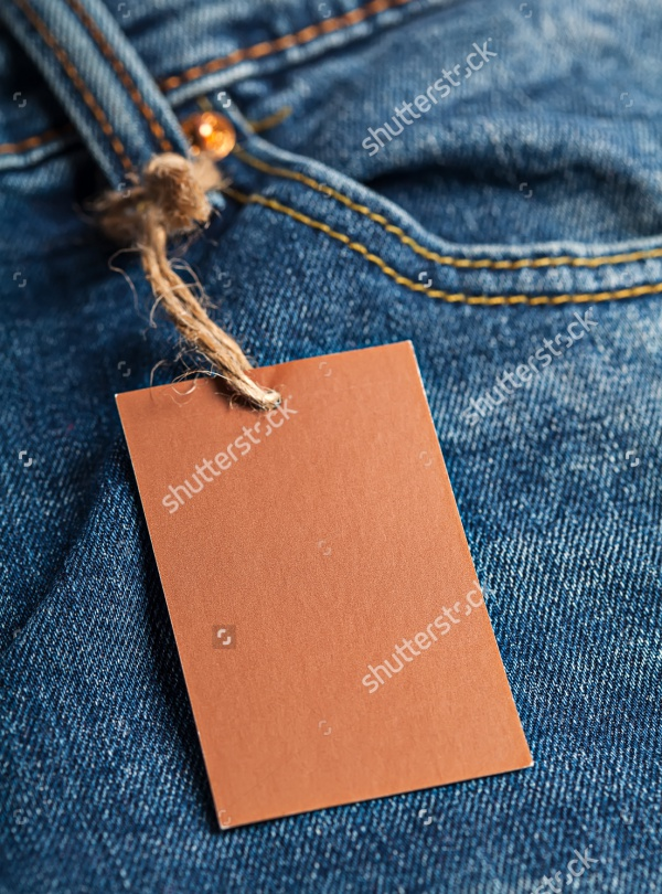 Cloth-label-tag-blank-brown-mockup