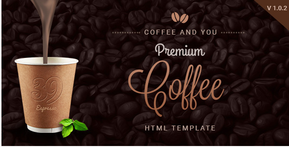 Coffee Shop Multipage HTML Restaurant Template