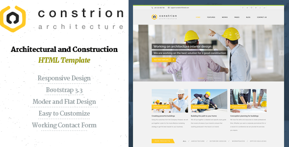 Constrion - Construction and Builder HTML Template