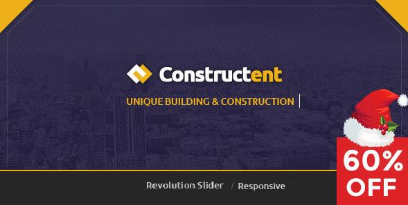 Constructent - Responsive Construction HTML Template