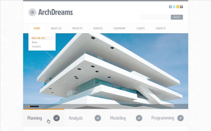 Best Construction PSD Design Templates