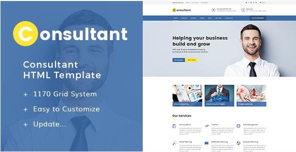 Consultant - Multipurpose Corporate Template