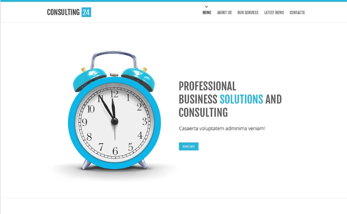 Best Consulting HTML Website Templates