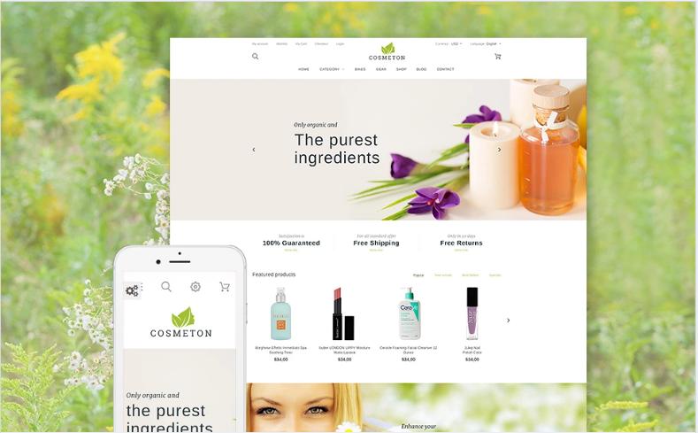 Cosmeton - Skin Care PrestaShop Theme
