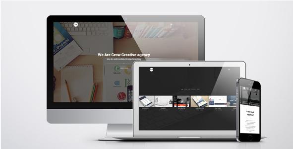 Crow - Creative Agency HTML Template