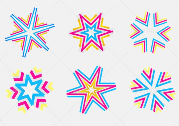 Crystal-Decorative-Star-Shapes