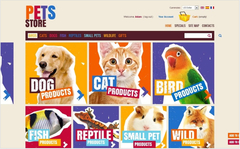 Best PrestaShop Animals Pets Themes