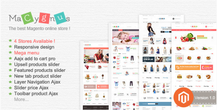 Best Magento Multipurpose Themes