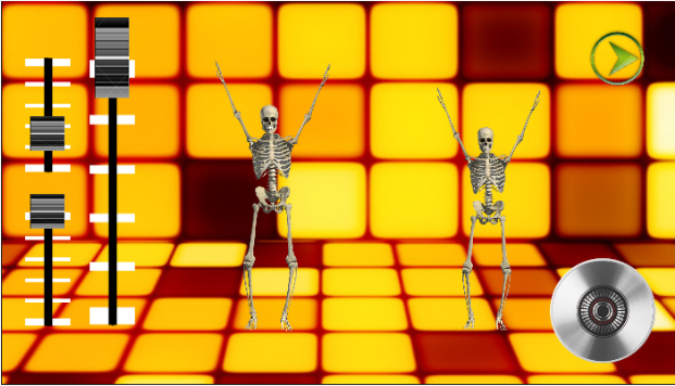DJ Music for dancing skeleton Topmost Free Music Android App