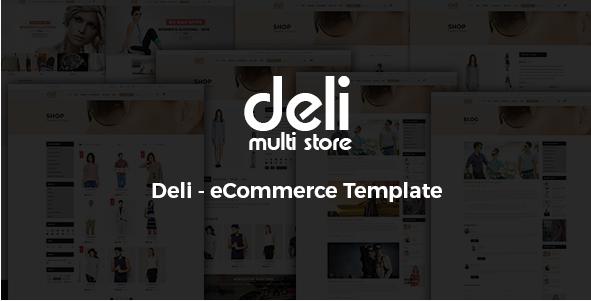 Deli - eCommerce HTML Template