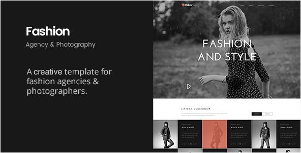 Deliver Fashion Minimal Fashion HTML Template