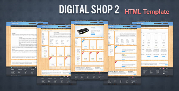 Digital Shop 2 - HTML Template